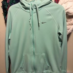 Teal Nike sweater